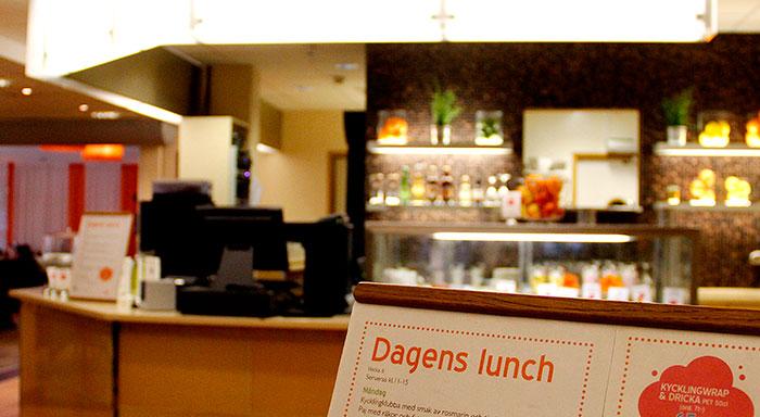 Dagens lunch Fyrishov Uppsala