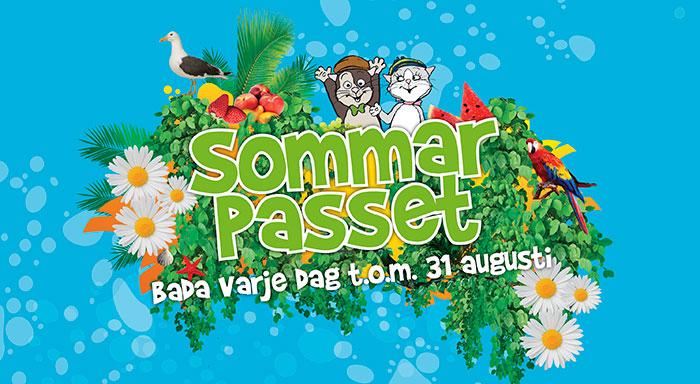 Sommarpasset 2018 fyrishov Uppsala
