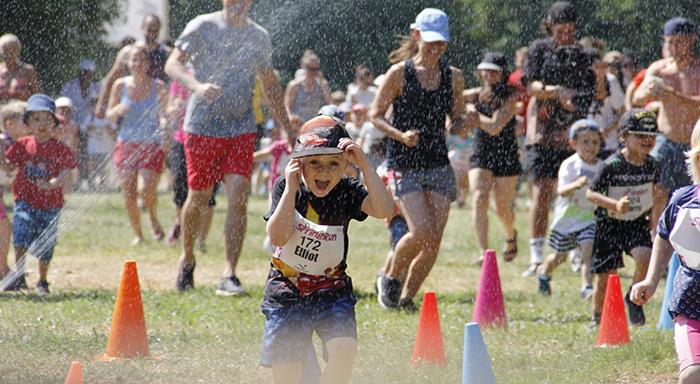 Barn springer i loppet SpringRun